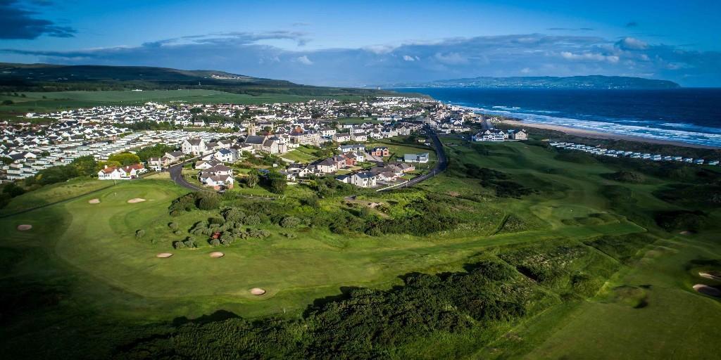 Castlerock Golf Club: Aerial View