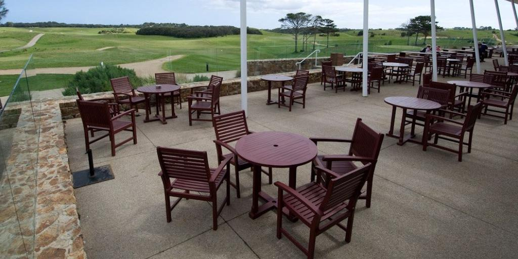 Clubhouse Terrace: Peppers Moonah Links
