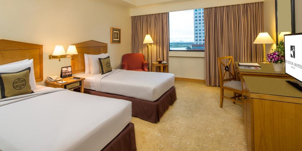 Deluxe Twin: Duxton Hotel Saigon