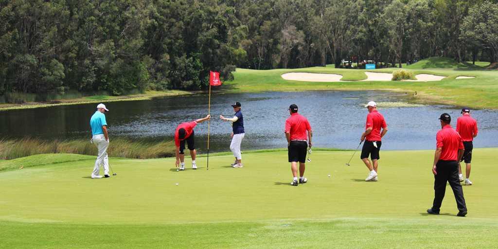 Golfing the Sunshine Coast
