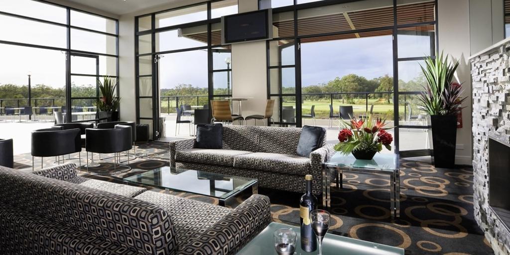 Living Room: Mercure Kooindah Waters