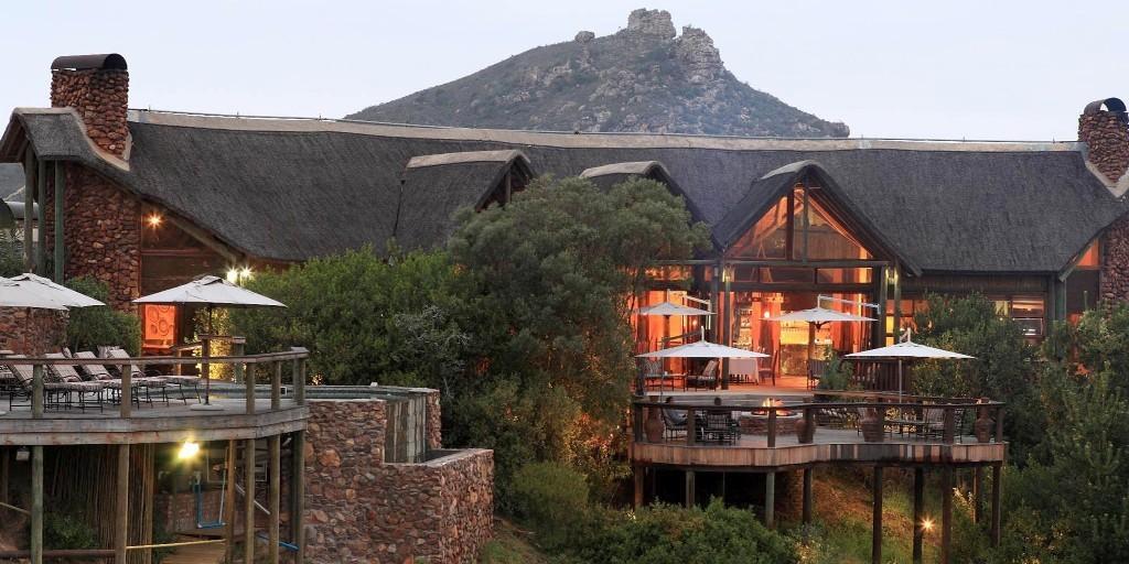 Main Lodge: Botlierskop Private Game Reserve