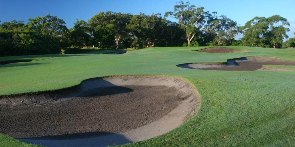 Hole 15 Newcastle GC