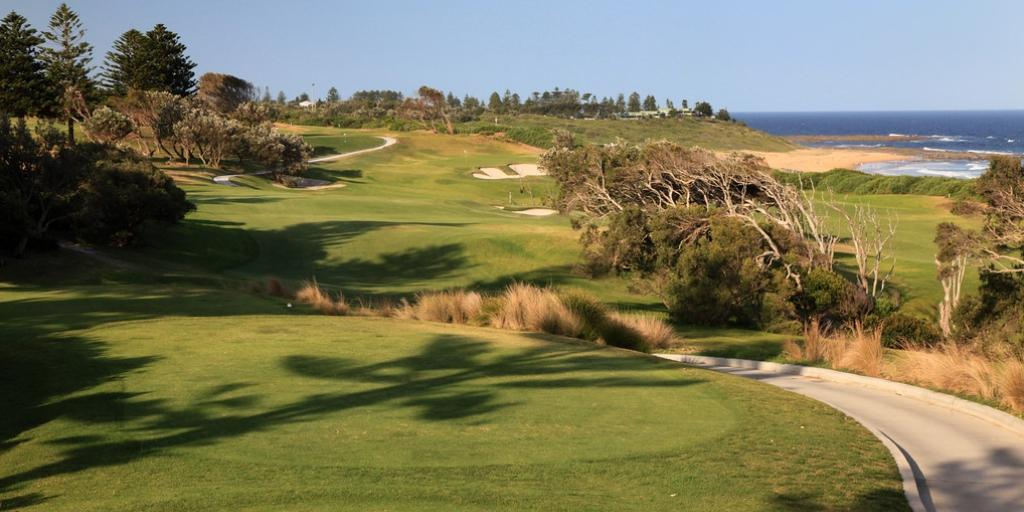 Hole 16 Shelley Beach GC