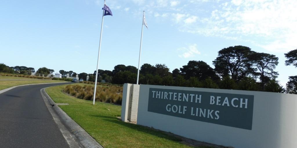 Entrance 13th Beach Golf LInks