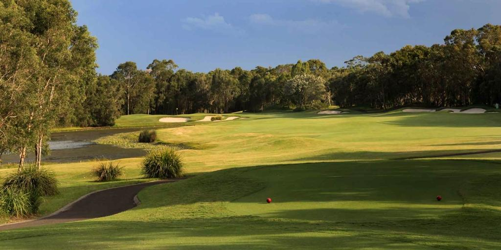 Twin Waters GC: The course design leverages on the natural bushland