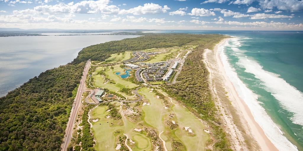 Aerial View Pullman Magenta Shores Resort