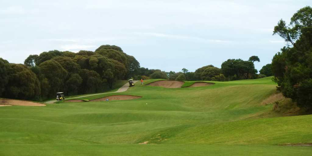 1st Tee at Cape Schanck GC