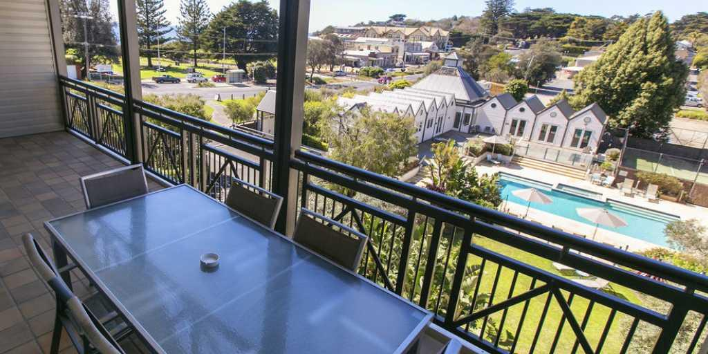 View from Balcony: Portsea Village Resort