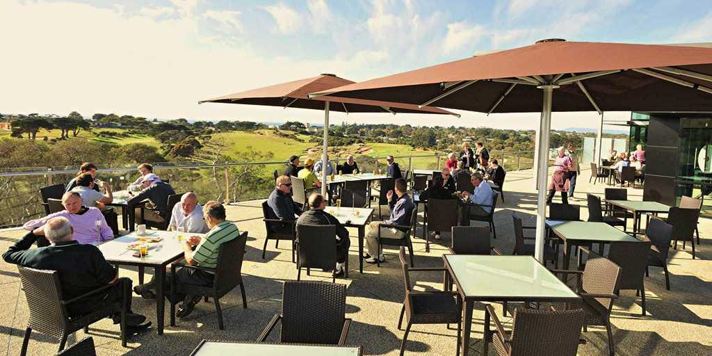 Clubhouse Terrace Portsea GC