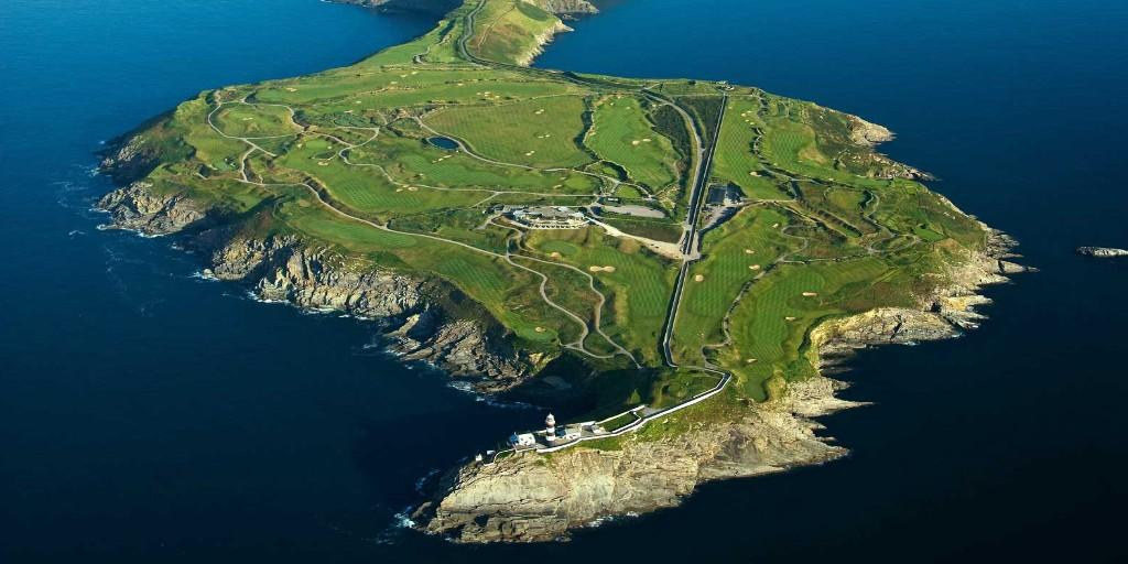 Old Head Golf Links: Aerial View