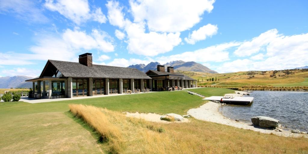 Clubhouse Jack's Point GC