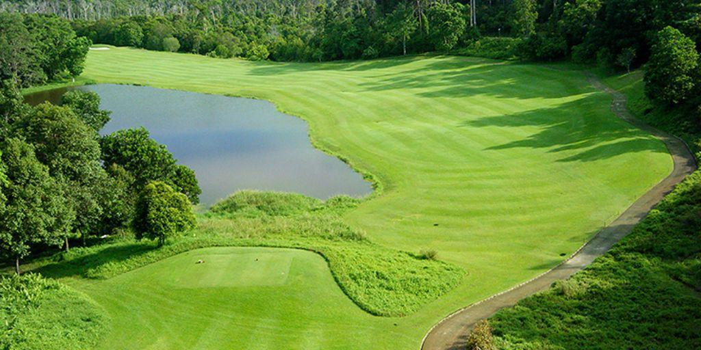 Hole 6 Ria Bintan Forest Course