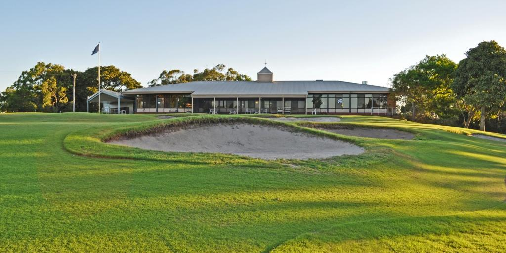Clubhouse at Newcastle GC