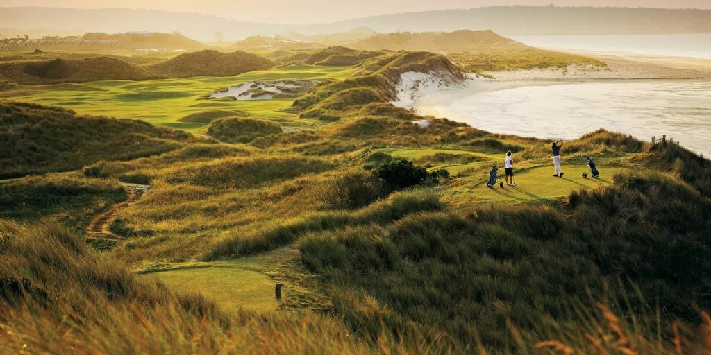 A spectacular course that mirrors the wild coastal links courses of Scotland and Ireland