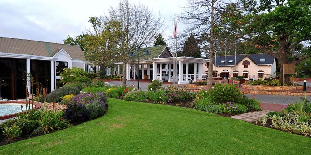 Entrance: Fancourt is ideally situated at the heart of Garden Route near George