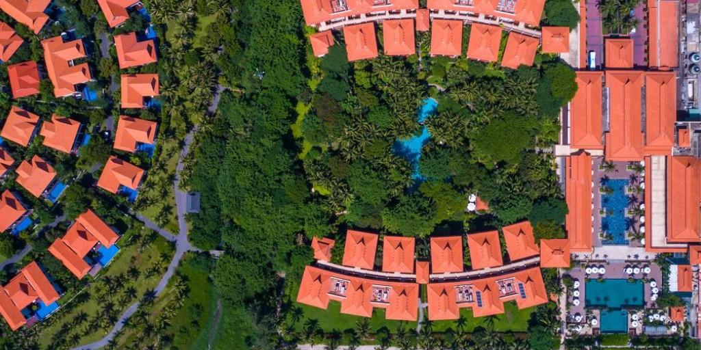 Furama Resort: Aerial View