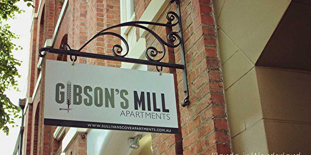 Entrance to Gibson's Mill Apartment