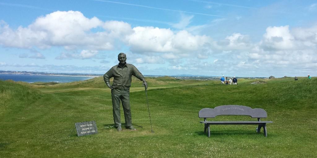 Tralee Golf Links: 1st Tee