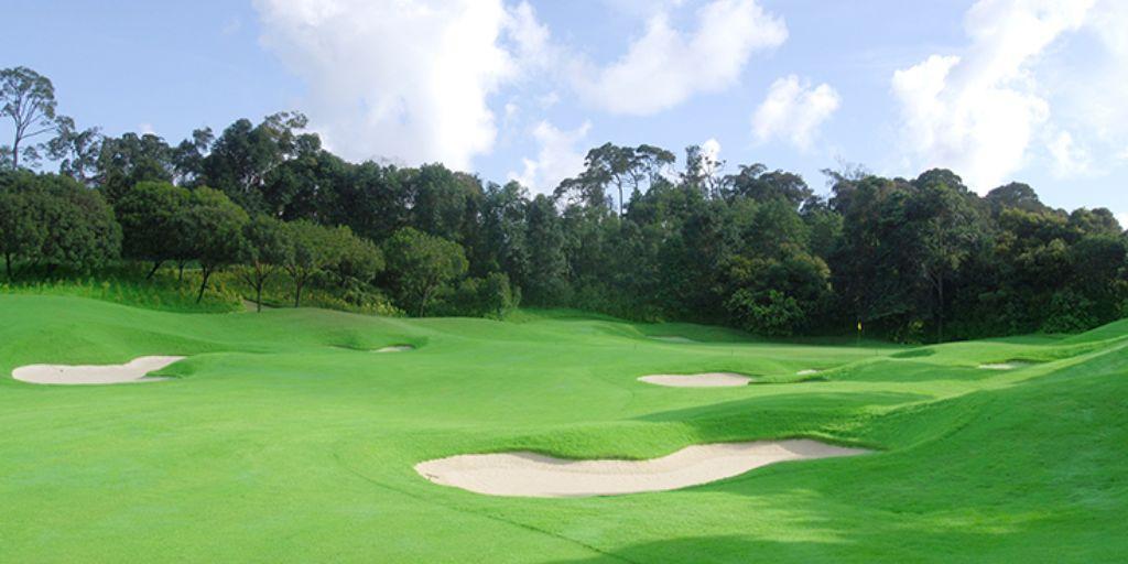 Hole 2 Ria Bintan Forest Course