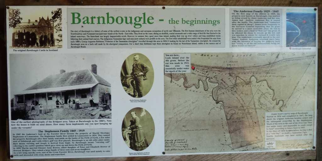 The name Barnbougle is inspired by a Scottish Castle