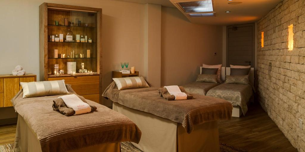 The Amani African Spa offers a variety of special therapies