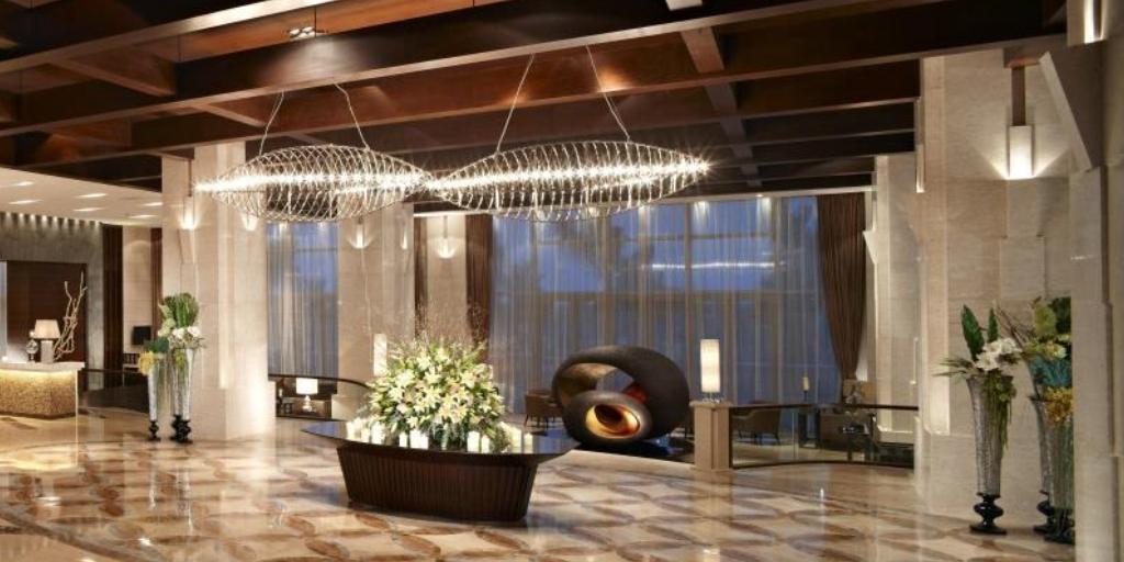 Lobby: Mission Hills Resort, Haikou