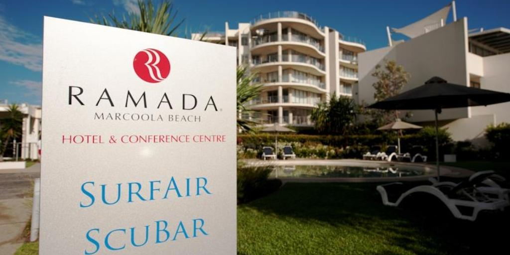 Front: Ramada Marcoola Beach