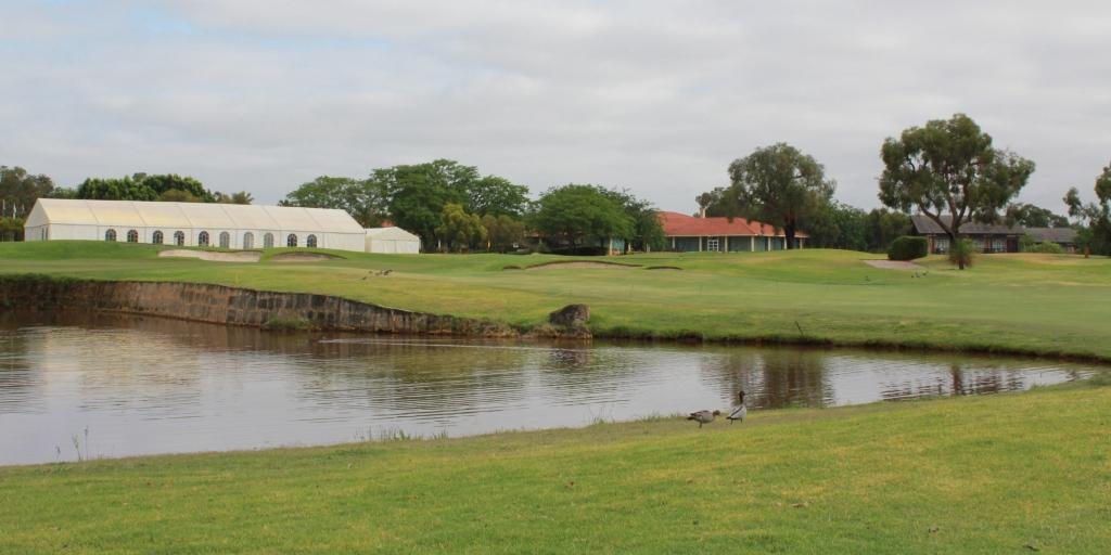 18th Green on the Lakes Golf Course