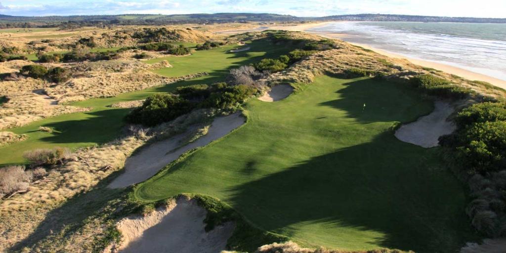 Hole 17 Barnbougle Dunes GC