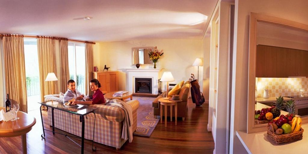 Living Room: Cypress Lakes Resort
