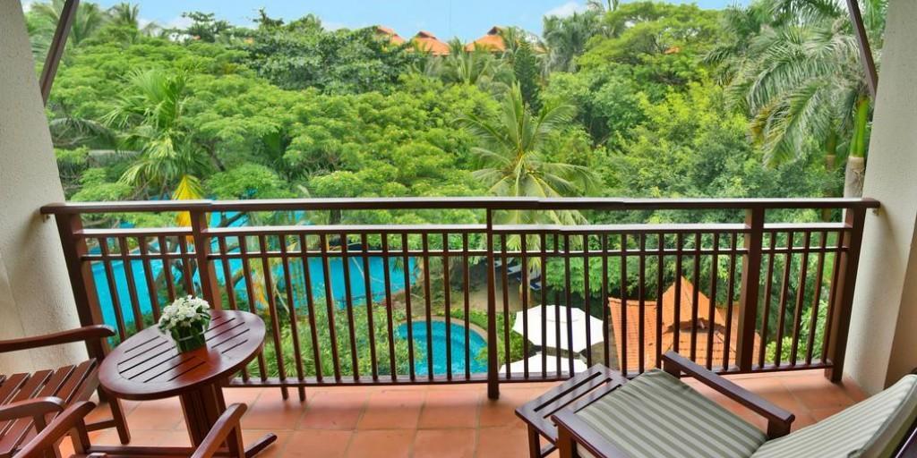 Furama Resort: Balcony View