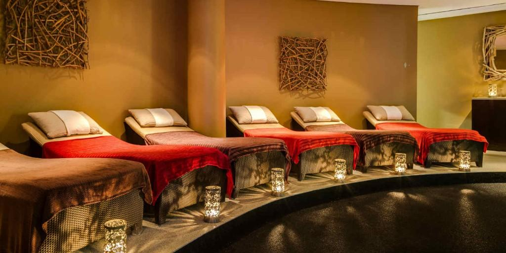 Relax those taught muscles on the course at the award-winning Spa