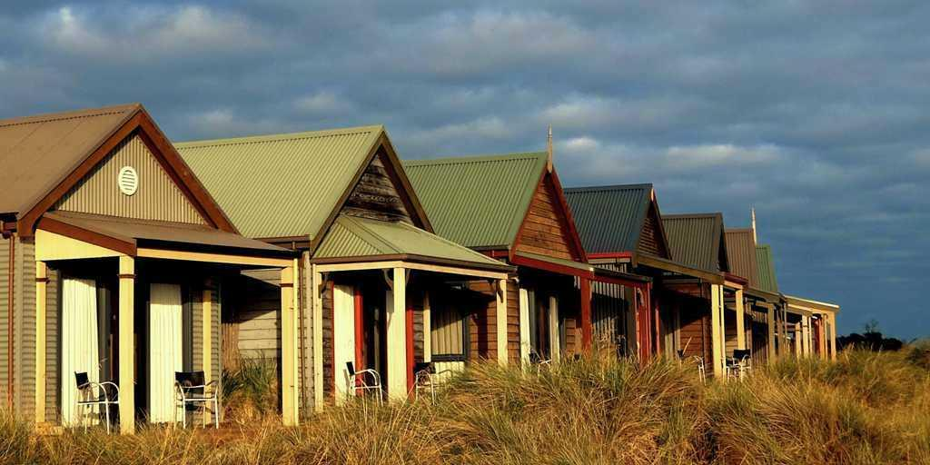 The Cottages are built specifically for a foursome of golfers