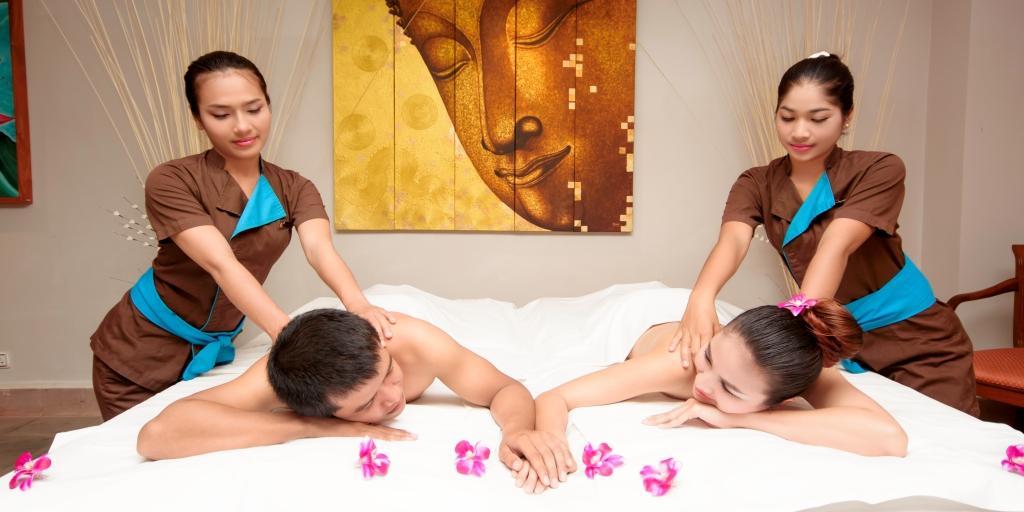 Spa: Sokha Angkor Resort