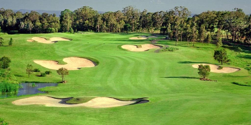 The strategically located bunkers and the generous greens are in superb condition year round