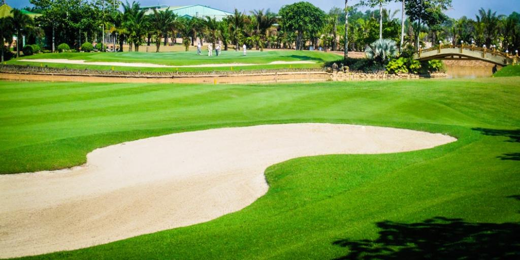 Hole 6 Long Thanh GC Hill Course