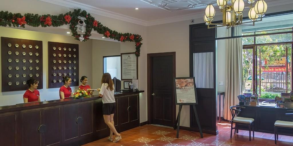 Hoi An Central: Reception Lobby