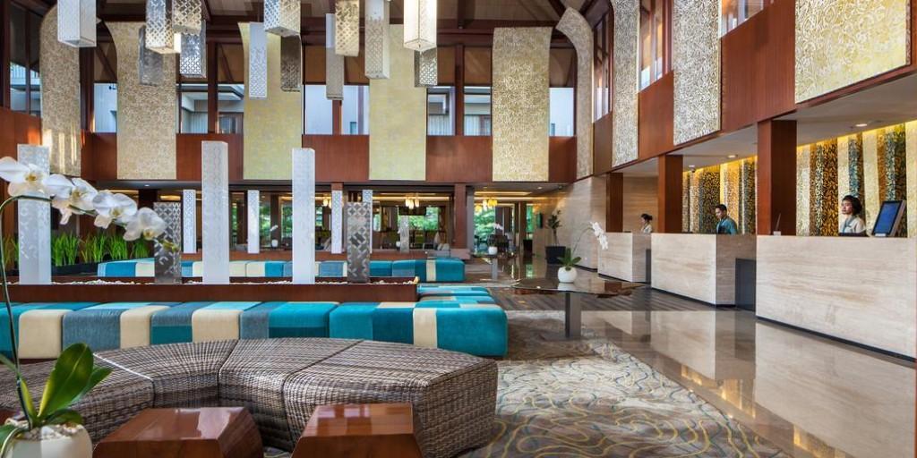 Marriott Nusa Dua: Reception Lobby